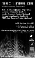 Machines 06 (Flyer)